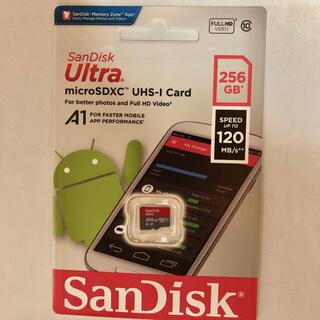 サンディスク(SanDisk)の【新品未開封】SanDisk サンディスク マイクロSDカード 256GB(PCパーツ)