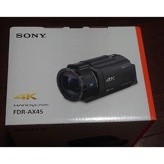 SONY - 新品未開封 SONY ソニー FDR-AX45 ビデオカメラ 4K 稀少