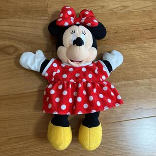 ミニーマウス(ミニーマウス)のミニー ぬいぐるみ パペット(キャラクターグッズ)