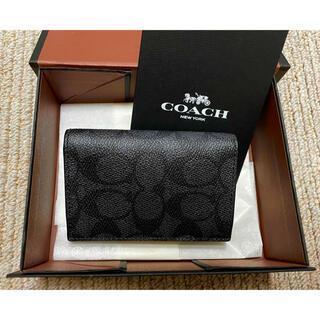 COACH - コーチ coach メンズ カードケース(カード入れ) 名刺入れ