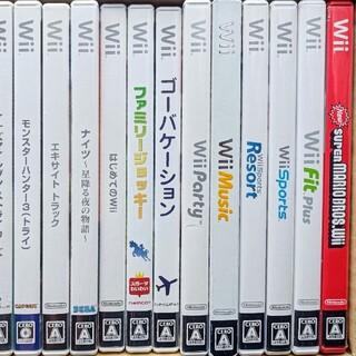 Wii - Wii ソフト 14本まとめ売り 【動作確認済】