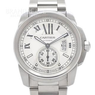 カルティエ(Cartier)のカルティエ カリブル ドゥ カルティエ シルバー文字盤 SS オートマ W710(腕時計(アナログ))