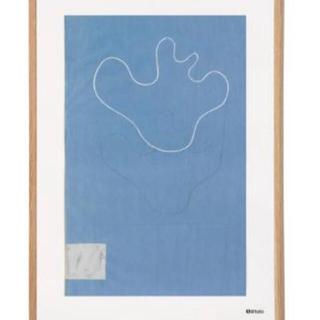 イッタラ(iittala)のイッタラ アルヴァ・アアルト コレクション アートポスター スケッチ ブルー(置物)