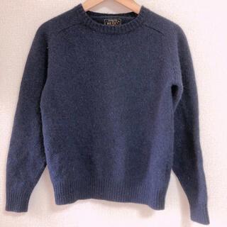 BEAMS - ビームスプラス ニット セーター 紺