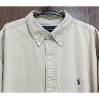 ラルフローレン(Ralph Lauren)のRalph lauren ラルフローレン シャツ XL ベージュ ゆるダボ (シャツ)