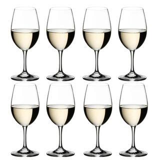 リーデル(RIEDEL)の【正規品】RIEDEL オヴァチュア ホワイトワイン 280ml 8脚セット(アルコールグッズ)