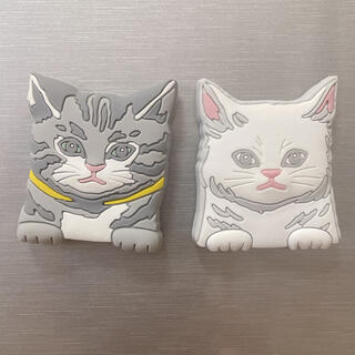 アフタヌーンティー(AfternoonTea)の猫マグネット 2個セット(日用品/生活雑貨)