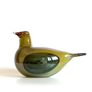 イッタラ(iittala)の Golden Dove 特別カラー イッタラ バード オイバ・トイッカ(置物)
