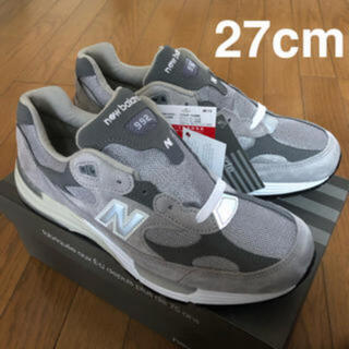 New Balance - New Balance M992GR GRAY US9 27cm