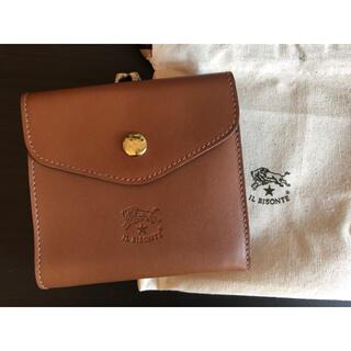 IL BISONTE - 【新品未使用】イルビゾンテ 二つ折り 財布 チョコレート モカ