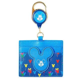 Disney - 日本未発売【Loungefly × Disney】ミッキーバルーン パスケース
