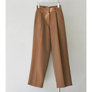 トゥデイフル(TODAYFUL)のトゥデイフル Chambray Twill Trousers 36(カジュアルパンツ)