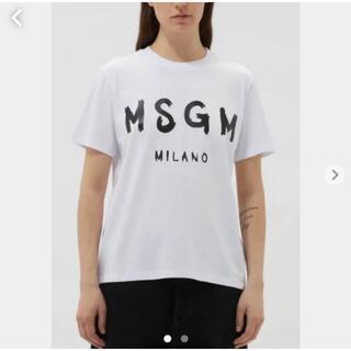 エムエスジイエム(MSGM)のMSGM Tシャツ(Tシャツ(半袖/袖なし))