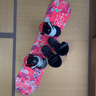 ケーツー(K2)のk2 スノーボード  子供用 3点セット おまけ付き!(ボード)