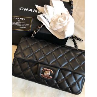 CHANEL - シャネル ミニマトラッセ 20センチ ブラック 美品