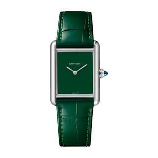 カルティエ(Cartier)のカルティエ タンク マスト グリーン WSTA0056 新品未使用(腕時計(アナログ))