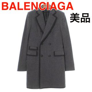 バレンシアガ(Balenciaga)のバレンシアガ チェスターコート トレンチコート 46 XS S M グレー(チェスターコート)