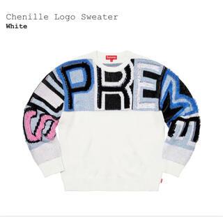 Supreme - シュプリーム Chenille Logo Sweater