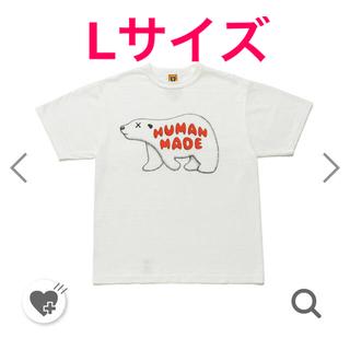 Humanmade x kaws tシャツ L(Tシャツ/カットソー(半袖/袖なし))