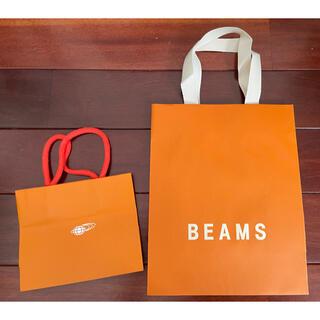 BEAMS - 【beams(ビームス)】ショップ袋 ショッパー 紙袋2枚セット