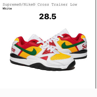 NIKE - supreme nike cross trainer low 白 28.5