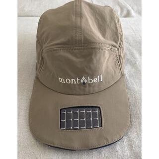 mont bell - モンベル フラッシュライト ストレッチ ODキャップ ソーラー LED 帽子