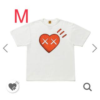 T-SHIRT KAWS #6 HUMAN MADEコラボ Mサイズ WHITE(Tシャツ/カットソー(半袖/袖なし))