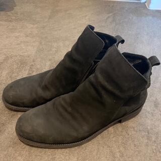 パドローネ(PADRONE)のSIDE ZIP BOOTS (NUBUCK) PADRONE(ブーツ)