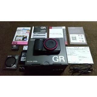 リコー(RICOH)のRICOH コンパクトデジタルカメラ GR IIIX(コンパクトデジタルカメラ)