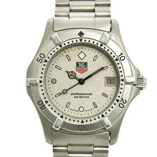 タグホイヤー(TAG Heuer)のタグホイヤー 腕時計 プロフェッショナル シルバー(腕時計)