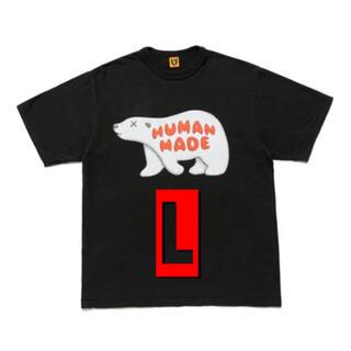 アベイシングエイプ(A BATHING APE)のHUMAN MADE × KAWS シロクマ Tee L(Tシャツ/カットソー(半袖/袖なし))