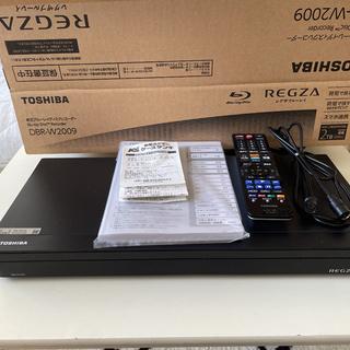 東芝 BDレコーダー/2チューナー/2TB DBR-W2009 HDD:2TB