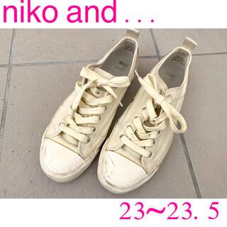 ニコアンド(niko and...)のニコアンド キャンバススニーカー(スニーカー)