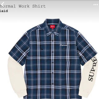 """シュプリーム(Supreme)のSupreme Thermal Work Shirt """"Plaid""""(シャツ)"""
