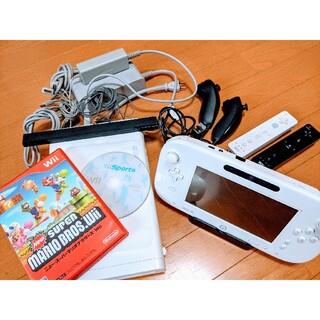 ウィーユー(Wii U)のWii U プレミアムセット 今すぐ遊べる 動作確認済み(家庭用ゲーム機本体)