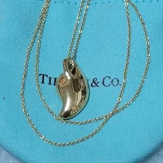 Tiffany & Co. -  ティファニー K18YG リーフ ネックレス