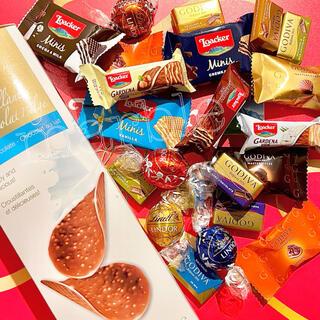 コストコ(コストコ)の高級チョコアソートパーティーパック リンツ ゴディバ ロアカー コストコ お菓子(菓子/デザート)