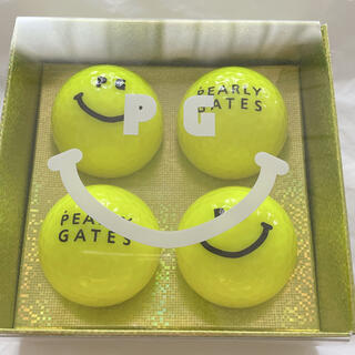 PEARLY GATES - 新品未使用 パーリーゲイツ ゴルフボール