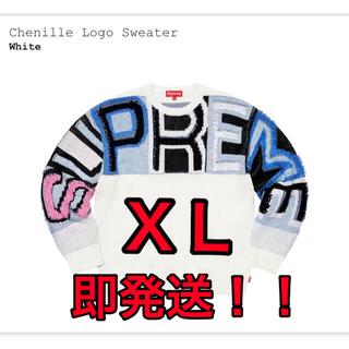 Supreme - Supreme21fw Chenille Logo Sweater XLサイズ