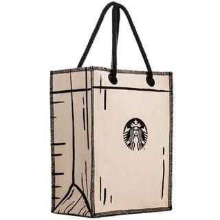 Starbucks Coffee - レア 台湾限定 スターバックストートバッグ CHIMEI サイレン バッグ