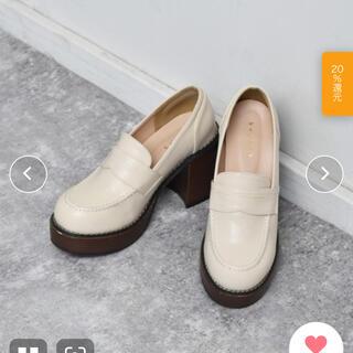 ウィゴー(WEGO)の厚底ローファー ローファー wego エキズムエキサイト(ローファー/革靴)