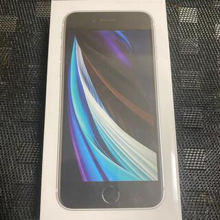 iPhone - 新品未使用 iPhone SE2 第二世代 64GB SIMフリー ホワイト