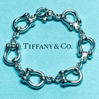 Tiffany & Co. - VINTAGE TIFFANY ティファニー スターラップ リンク ブレスレット