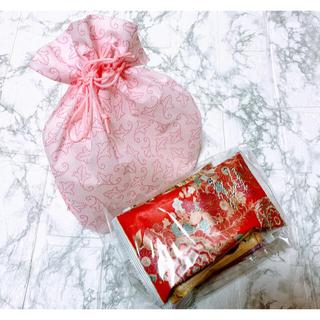 【京都銘菓】京西陣 菓匠 宗禅 京の味袷せ あられ おかき 巾着袋入り 5袋(菓子/デザート)