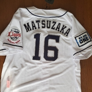 Majestic - 西武 松坂 ユニフォーム サイズL