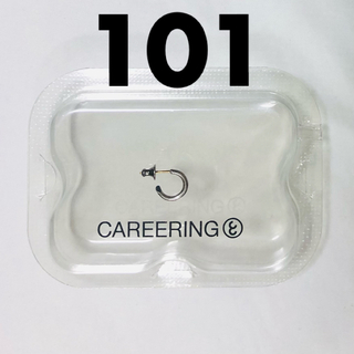 WACKO MARIA - CAREERING キャリアリング PLACEBO 101(SV)右耳のみ