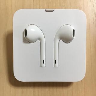 新品未使用 iPhone 純正イヤホン(スマートフォン本体)