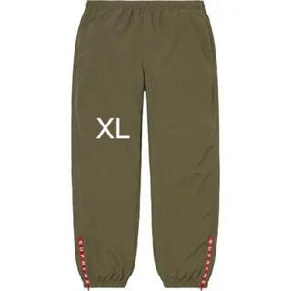 Supreme - Supreme warm up pant olive XL