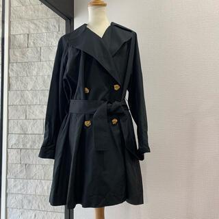 数回 定価25万 LEONARD レオナール オールシルク コート ブラック