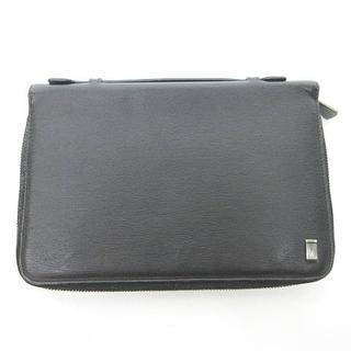 ダンヒル(Dunhill)のダンヒル マルチケース カード入れ クラッチバッグ セカンドバッグ ブラック(セカンドバッグ/クラッチバッグ)